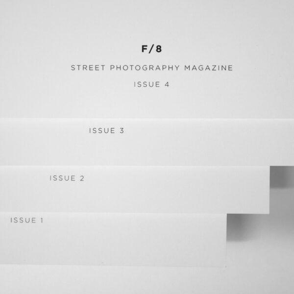 f/8 street photography magazine issues 1-4 sq